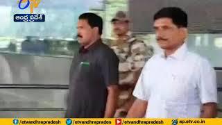 DGP RP Thakur Arrives at Vizag airport