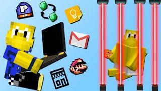 Laptop Mod! (Gefängnis App, Email, Super Mario, Laser)