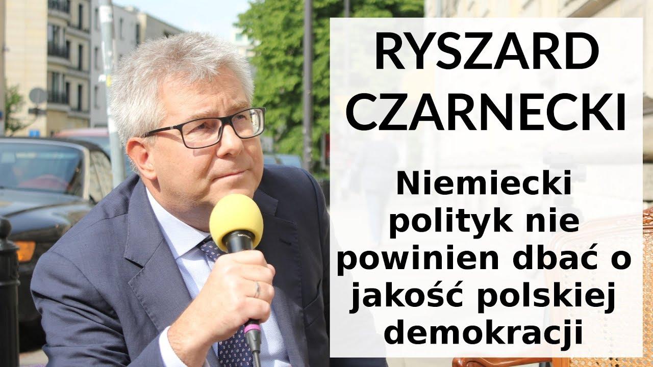 Czarnecki: Kolejny niemiecki polityk bezceremonialne wtrąca się w polskie sprawy