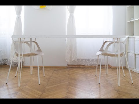 diy osb hairpin esstisch selber bauen tisch dining table youtube. Black Bedroom Furniture Sets. Home Design Ideas