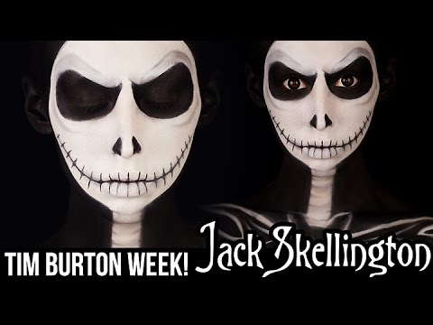 Jack Skellington Makeup | HALLOWEEN 2014 - YouTube
