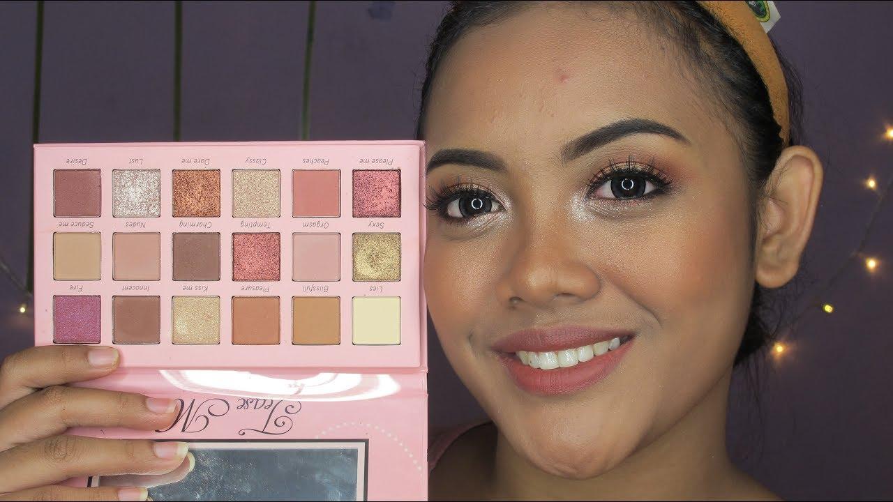 makeup tutorial ft beauty creation tease me pallete youtube