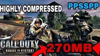 [270MB]HOW TO DOWNLOAD CALL OF DUTY ROADS TO VICTORY HIGHLY COMPRESSED FOR PSP DOWNLOAD LINK BELOW