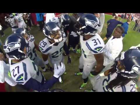 "Seattle Seahawks Legion of Boom Huddle: ""Who"
