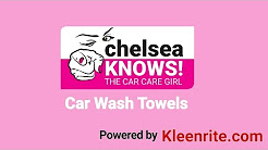 Chelsea Compares Car Wash Towels - Chelsea Knows