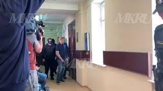 Задержанный за госизмену Александр Воробьев доставлен в суд