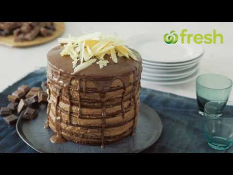 How To Make Chocolate Mousse Cake | Woolworths