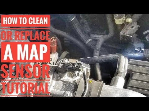 HOW TO REPLACE OR CLEAN A MAP SENSOR P0107 P0108 - YouTube