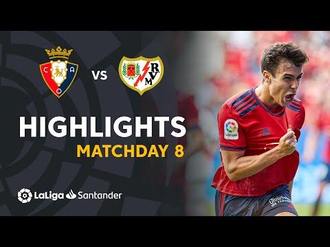 Osasuna Vallecano Goals And Highlights