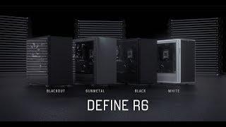 339d62bd8 PC skrinka FRACTAL DESIGN Define R6 Black Tempered Glass FD-CA-DEF-R6;  video; video ...