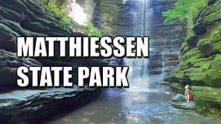 Matthiessen State Park | Illİnois Adventure