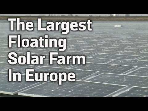 The Largest Floating Solar Farm In Europe