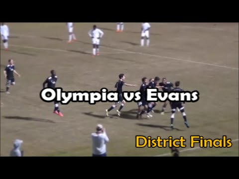 Olympia vs Evans Full Game (District Finals)