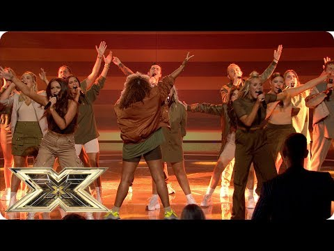 LMA Choir sing Circle of Life | Live Shows Week 1 | The X Factor UK 2018