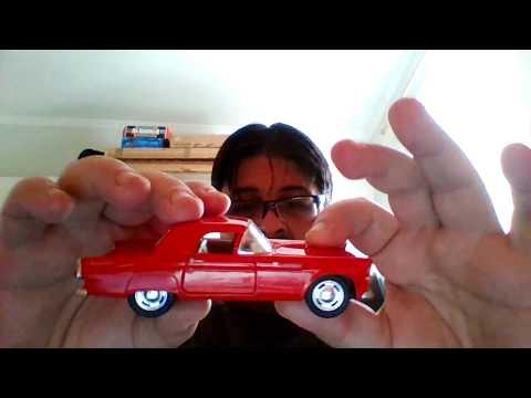 Miniatura Ford Thunderbird 1955