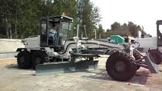 Автогрейдер с полноповоротным отвалом ГС-10.20