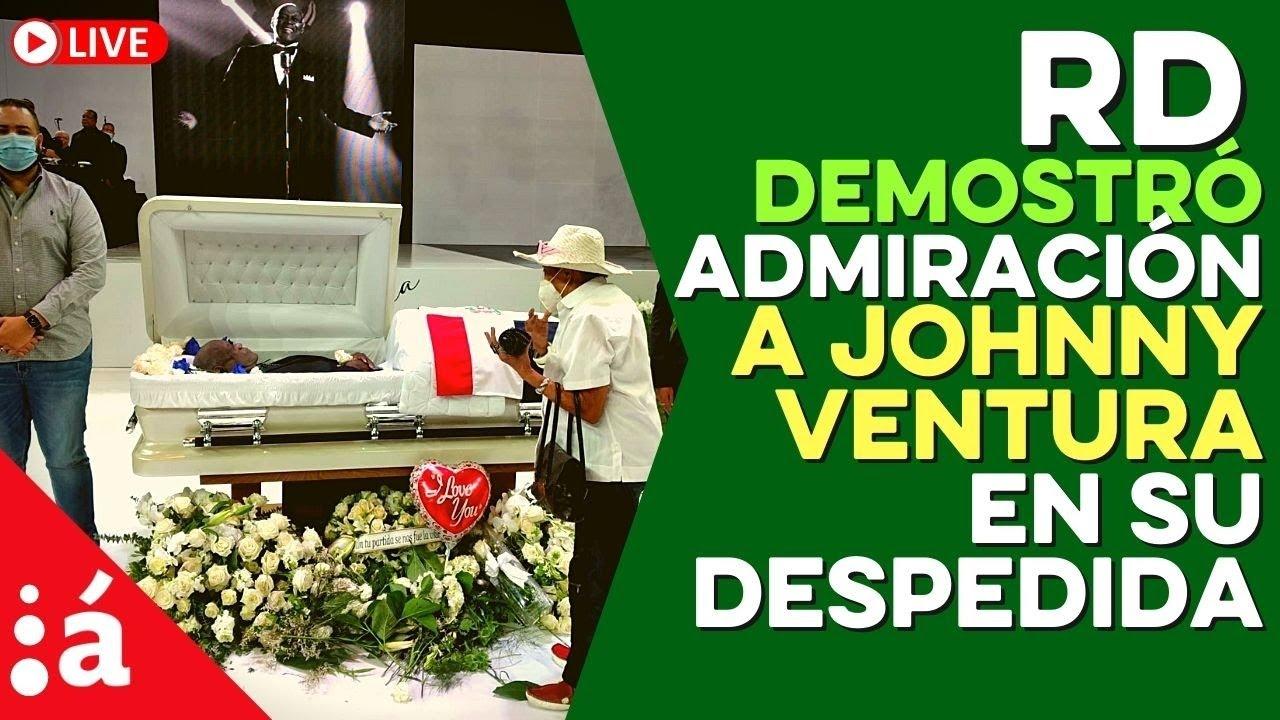 RD demostró admiración a Johnny Ventura en su despedida, PC se pronuncia por elección de jueces TSE