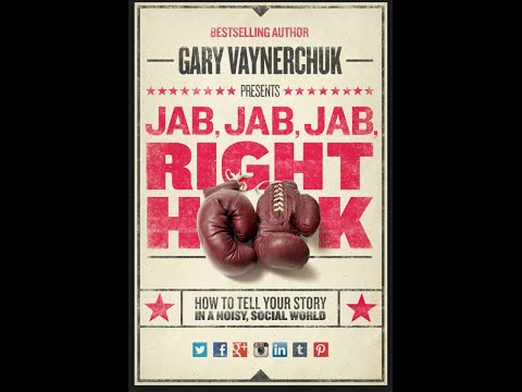 BOOK REVIEW~1 BY Bradley Lenart. READING MOTIVATION JAB, JAB, JAB, RIGHT HOOK  By: Gary Vaynerchuck