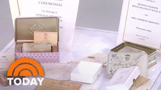 What Would You Pay For A Slice Of Princess Di's Wedding Cake? | TODAY
