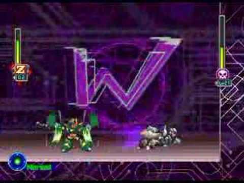 Megaman X5 - Nightmare Zero vs. X (Rnd 2)