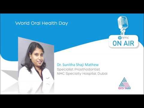 World Oral Health Day [Malayalam] - Dr. Sunitha Mathew - Asianet Radio