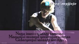 [Instrumental] Kim Jaejoong - Let The Rhythm Flow (With Lyric)