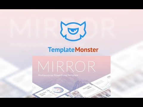 mirror powerpoint template 63984 youtube