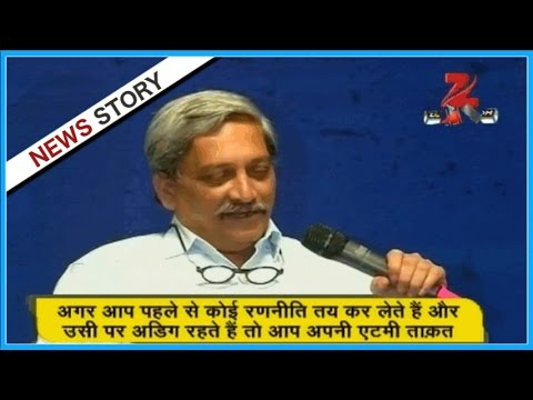 DNA: Analysis of Manohar Parrikar's statement on nuclear weapons
