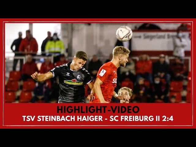 TSV Steinbach Haiger - SC Freiburg II 2:4 (Regionalliga Südwest I #TSVSCF )