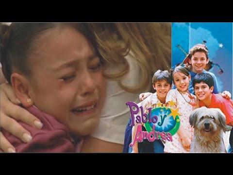 Pablo y Andrea • Andrea recibe la noticia de la muerte de su padre.