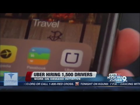 Uber to hire more than 1500 drivers in Tucson