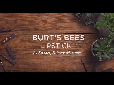 Burt's Bees Lipstick Swatches - 14 Shades!