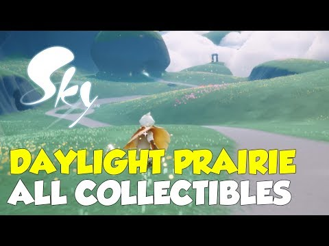 Sky: Children Of The Light Daylight Prairie All Collectible Locations (All Stars & Spirits)