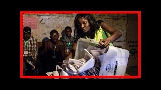 Kenya election 2017: au and commonwealth say poll credible - bbc news[BIKINI]