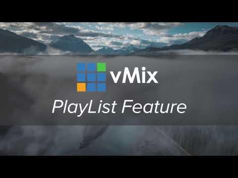 vMix PlayList Tutorial