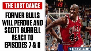 The Last Dance: Former Chicago Bulls reaction and takeaways from episodes 7 & 8 | CBS Sports HQ