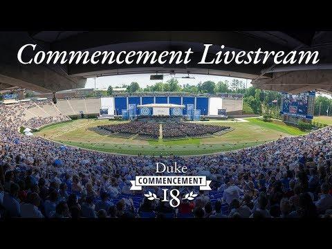 Duke Commencement 2018
