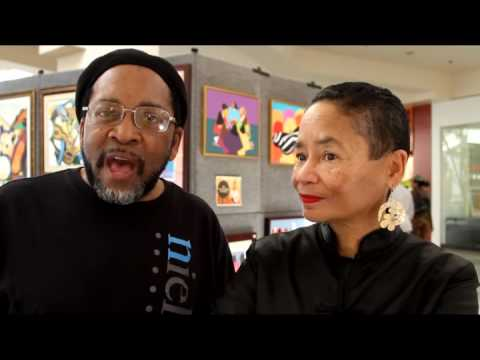 Synthia SAINT JAMES & Charles Bibbs | On Artistic Collaborations