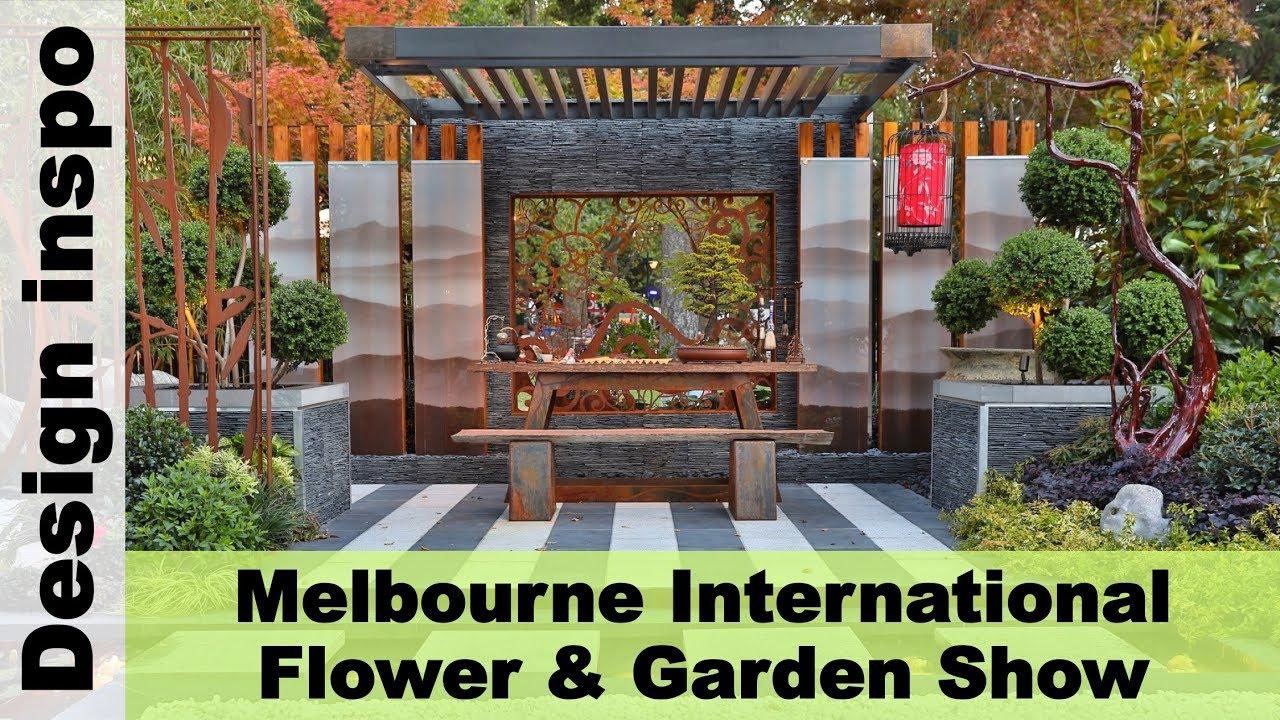 melbourne international flower & garden show - melbourn, australia