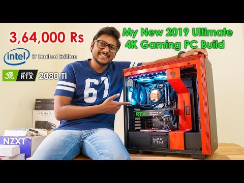 My MOST EXPENSIVE 2019 RGB Gaming PC Build 3,64,000 Rs...