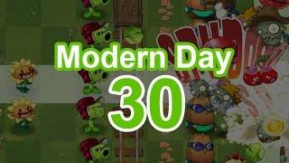 30 день - Современный день - видео Растения против Зомби 2 прохождение(Прохождение 30 дня мира Современный день (Modern day) игры Растения против Зомби 2., 2016-02-21T09:52:47.000Z)
