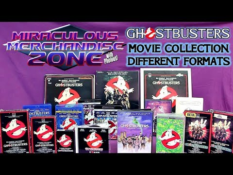 MMZ - Ghostbusters Movie Formats