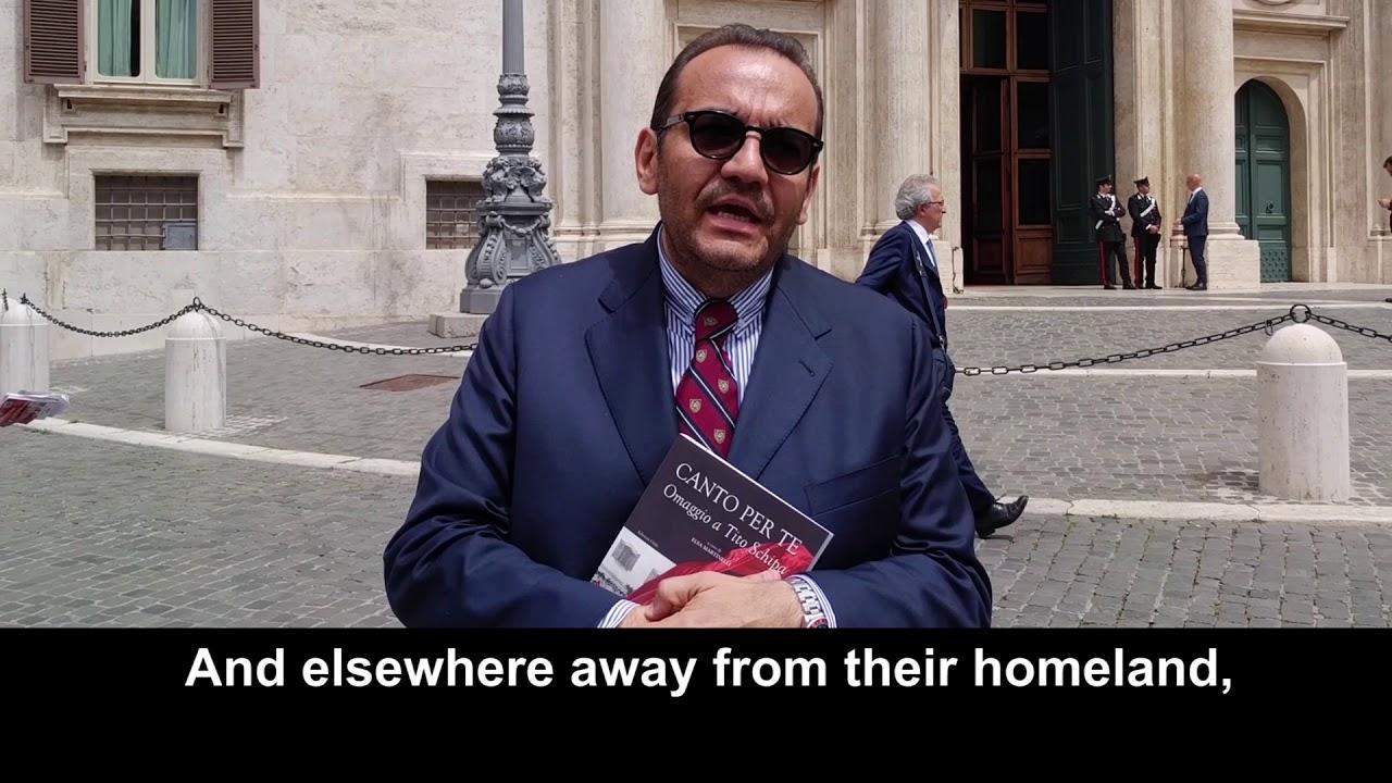 Solidarity Message of Italian Lawmaker Nicola Ciraci to 'Free Iran' Convention