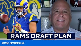 Rams Draft Plan Without First Round Pick [2021 NFL Draft] | CBS Sports HQ