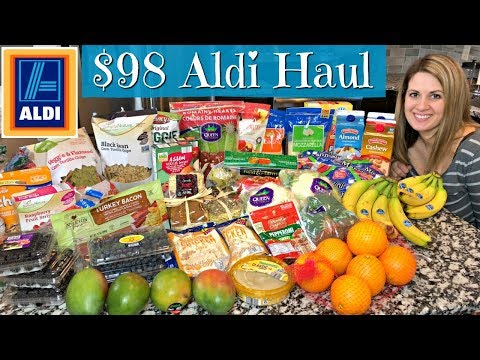 $98 ALDI HAUL :: FAMILY OF 5 :: JANUARY 2, 2018
