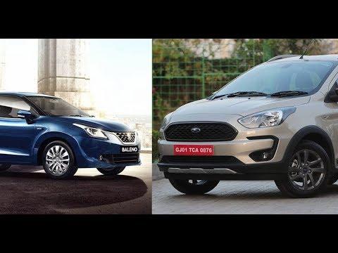 2018 New Ford Freestyle vs Maruti Suzuki Baleno - Which is Best ?