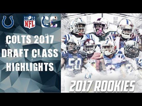 Colts 2017 Draft Class