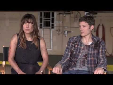 Kiele Sanchez & Zach Gilford  THE PURGE: ANARCHY