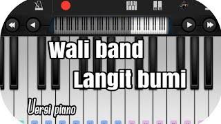 Wali - langit bumi versi piano