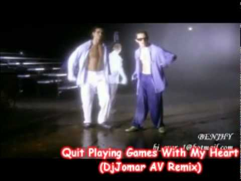 Quit Playing Games With My Heart - BackStreet Boys (AV Remix)